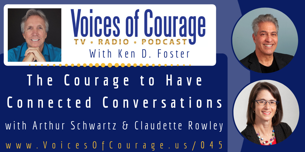 Voices of Courage Episode 045 Show Graphic