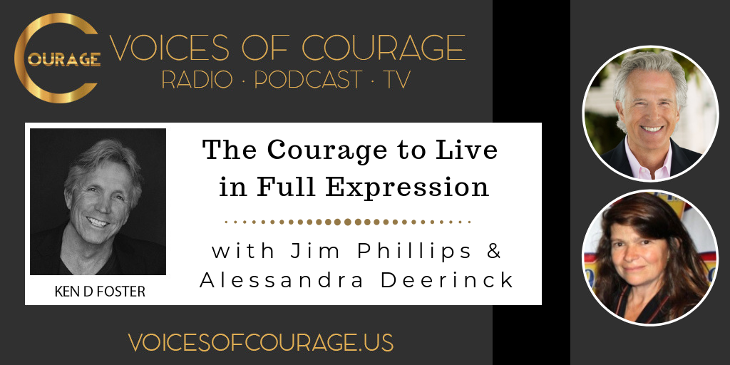 064: The Courage to Live in Full Expression