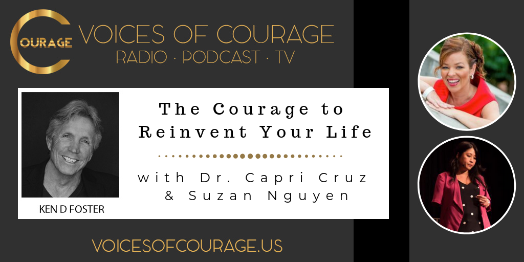 075: The Courage to Reinvent Your Life