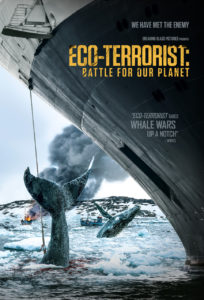 """Movie poster for """"Eco-Terrorist: Battle For Our Planet"""""""