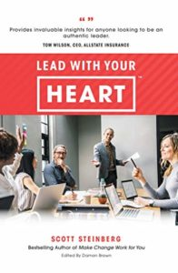 Lead With Your Heart - book by Scott Steinberg