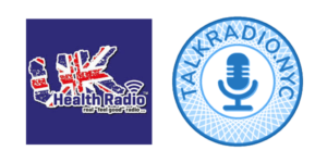 UK Health Radio and TalkRadio.NYC Graphics Banner