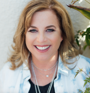 Image of Julie Potiker - Mindful Methods for Life - Author of Life Falls Apart, but You Don't Have To: Mindful Methods for Staying Calm In the Midst of Chaos - interview on Voices of Courage with Ken D. Foster